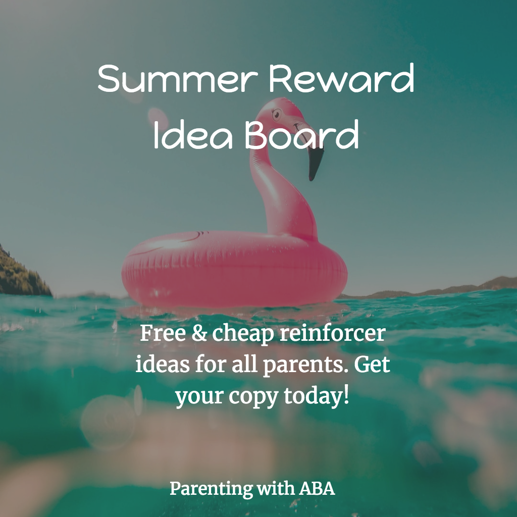 Summer Reward Idea Board