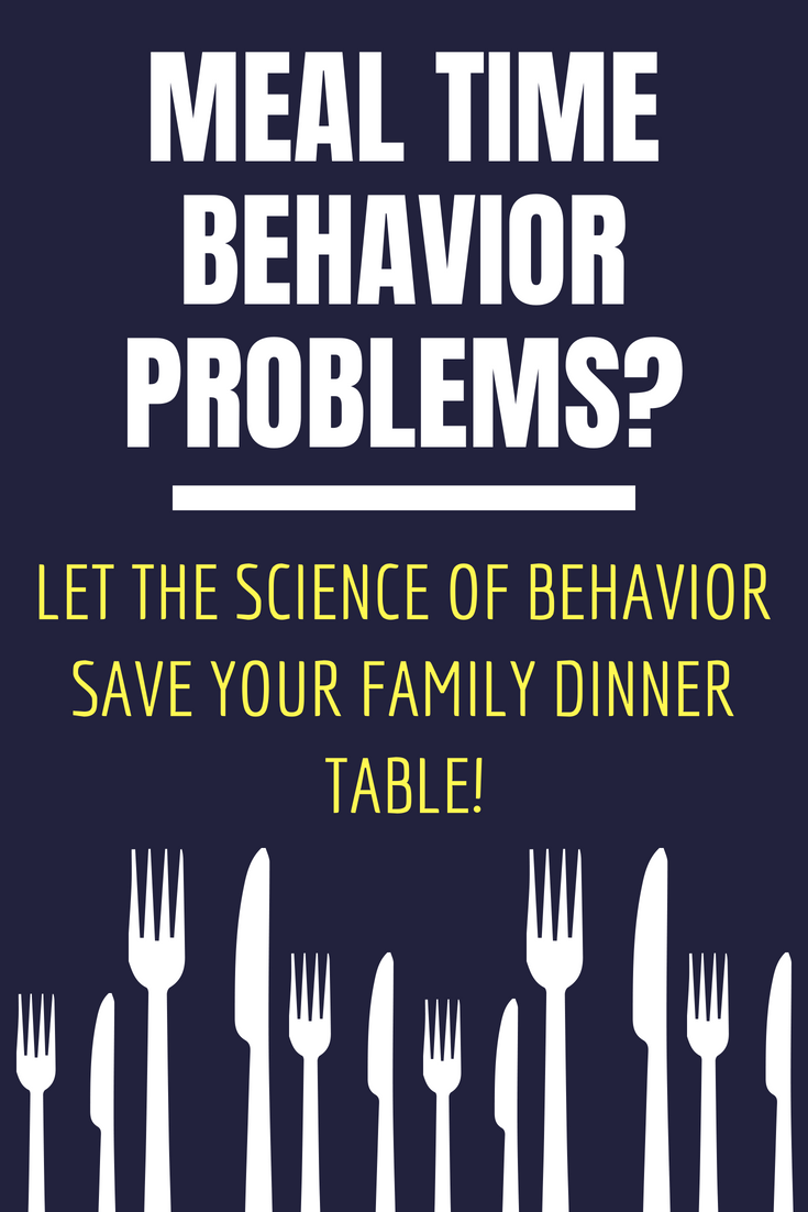 Behavior Skills Training at Dinner Time