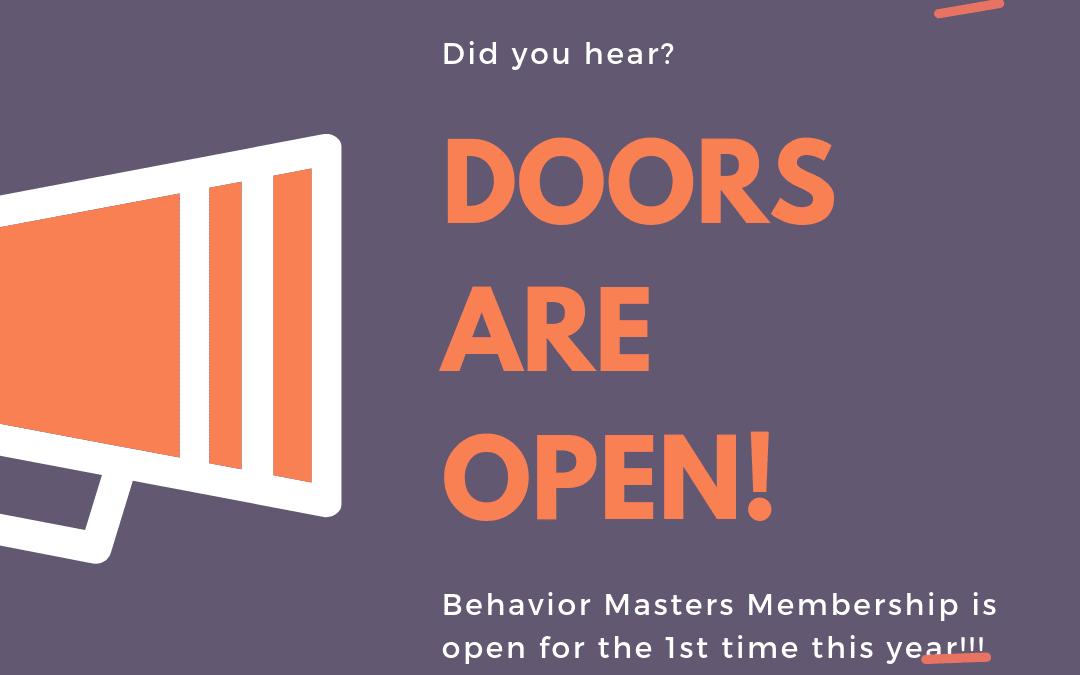 Membership Enrollment is OPEN!
