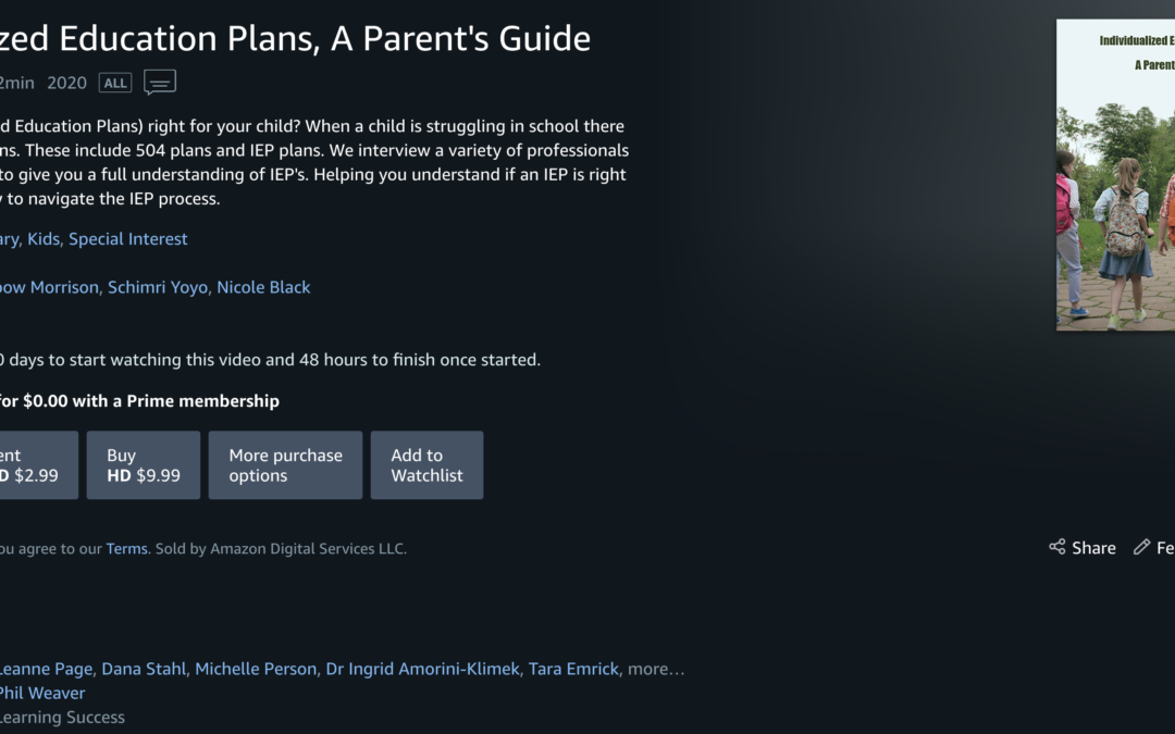 New IEP Documentary for Parents