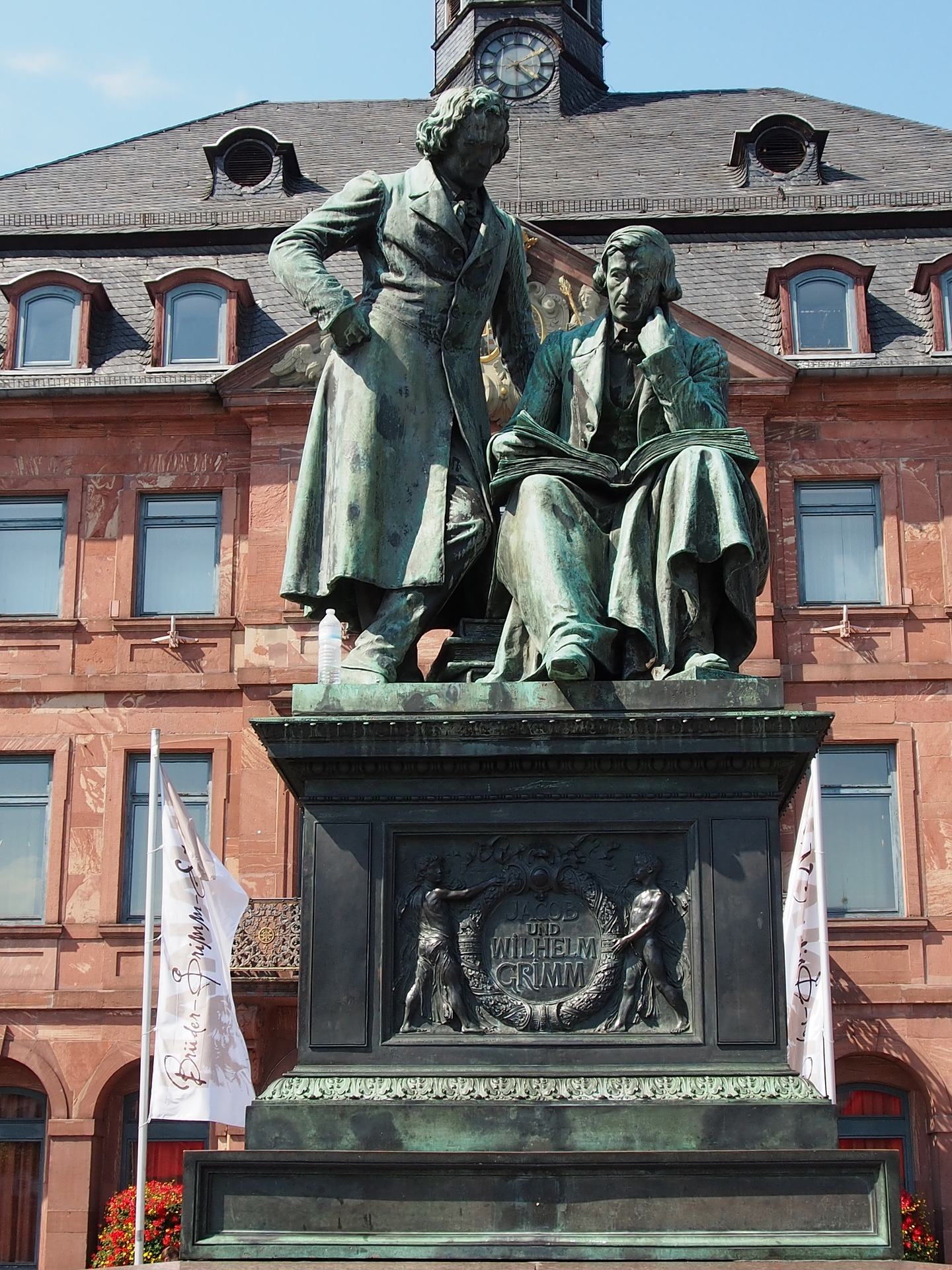 Statue of the Brothers Grimm