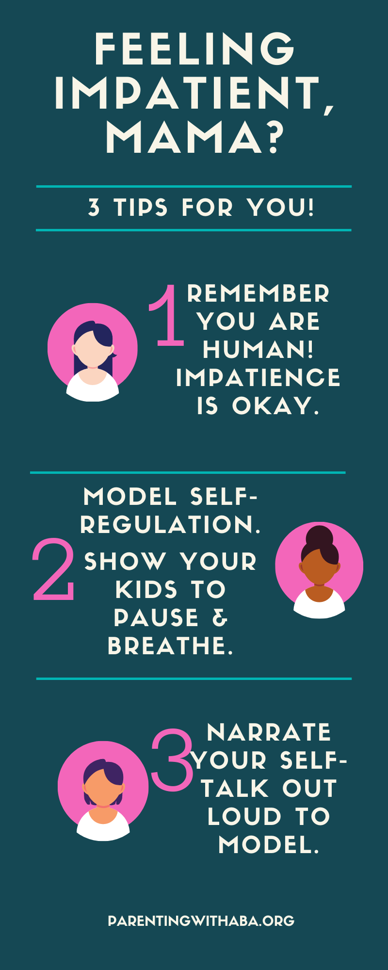 Infographic for moms