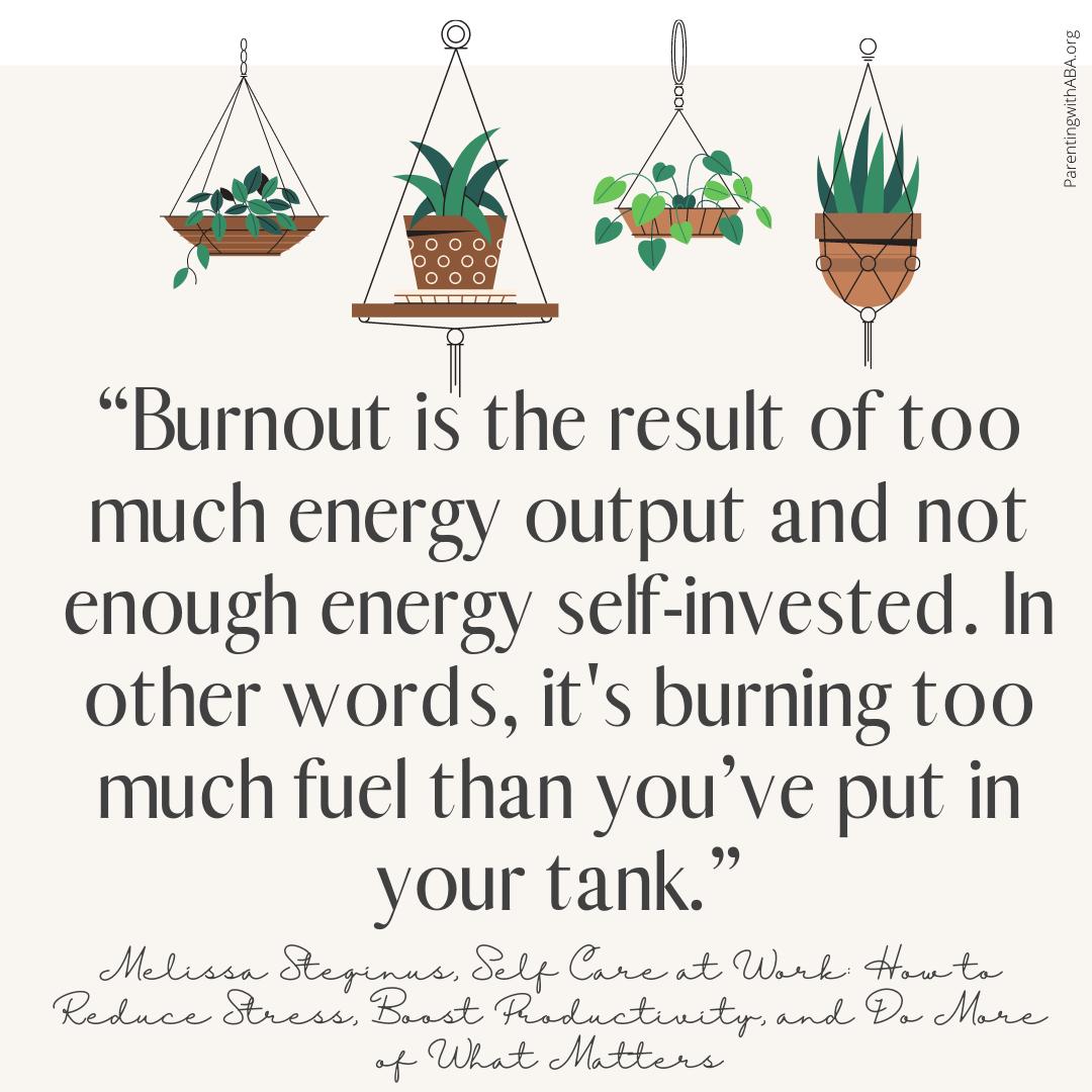 burnout text